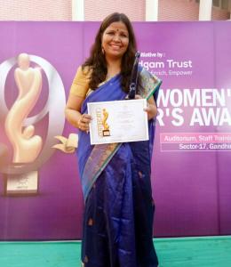 उरई की बेटी दिव्या को मिला राष्ट्रीय सम्मान 3