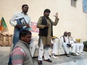 झांसी-भारतीय जनता पार्टी ने किया किसान मोर्चा का आयोजन ! 2