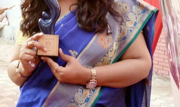 उरई की बेटी दिव्या को मिला राष्ट्रीय सम्मान 1