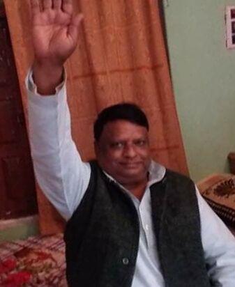 जालौन-जन अधिकार पार्टी के राष्टूीय महा सचिव बने मुलचरन निषाद।