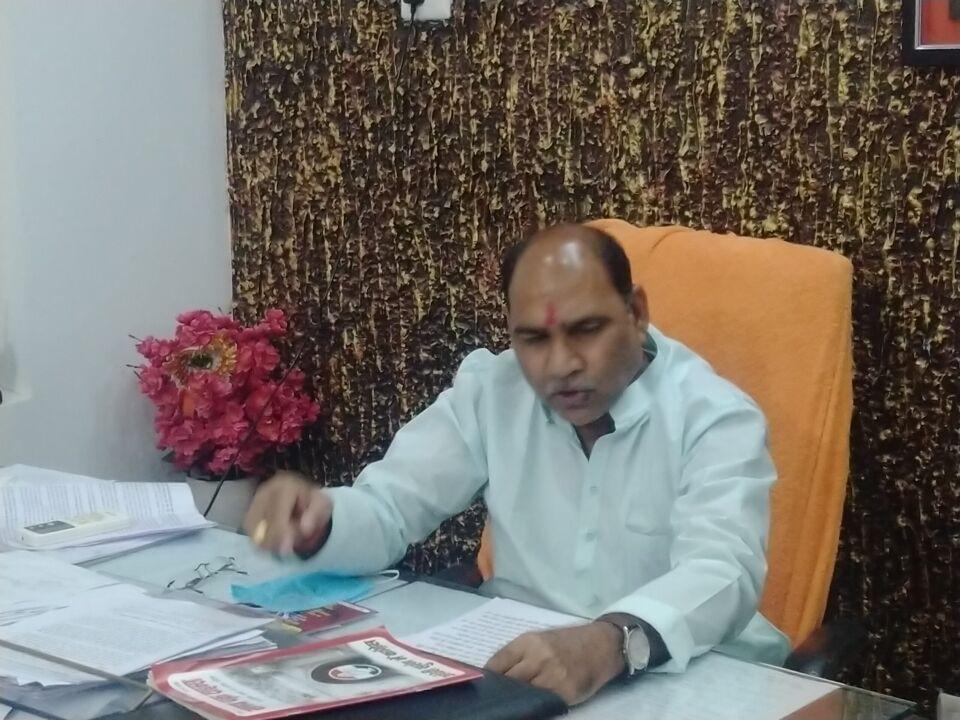 जालौन-नये बिल में किसान अपनी फसल को देश के किसी भी हिस्से में बेंच सकता है-गौरीशंकर वर्मा विधायक