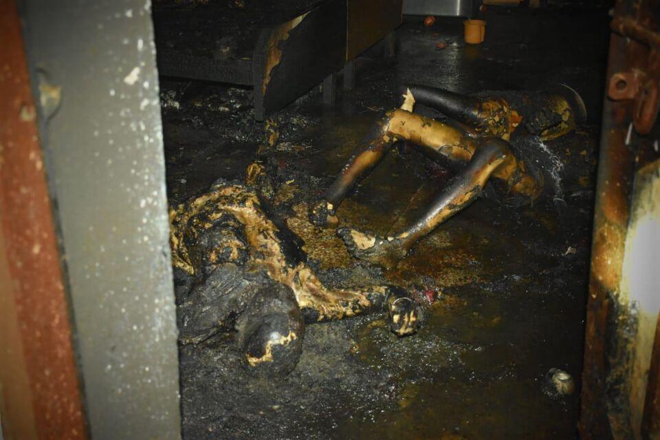 झांसी-एक ही परिवार से चार लोगो की हुई आग से मौत।