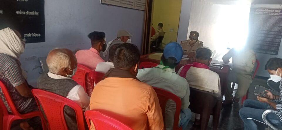 जालौन-आगामी ईद के त्यौहार के संबंध में मुस्लिम समुदाय व हिन्दू समुदाय के लोगो से चर्चा की गई।