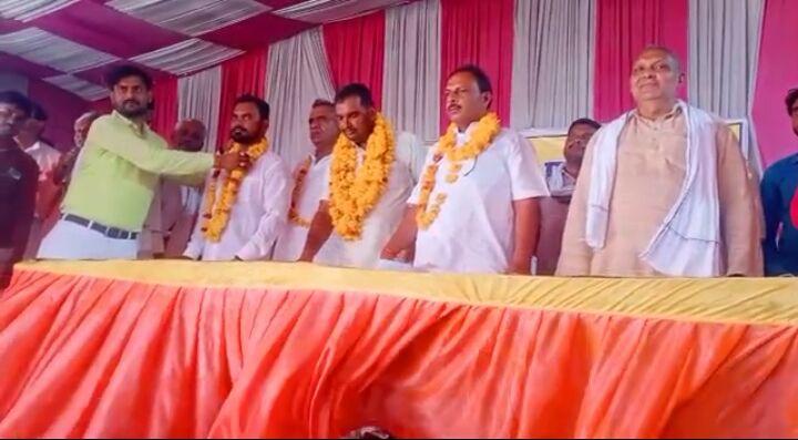 अखिल भारतीय प्रधान संगठन के जिलाध्यक्ष बने धर्मेंद्र कुशवाहा बरहा।