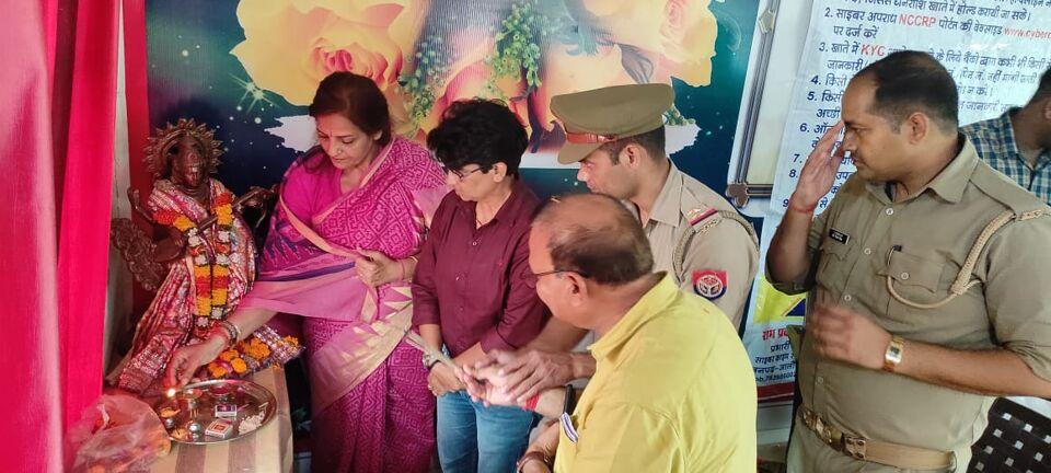 उरई के बीकेडी एल्ड्रिच पब्लिक स्कूल में साइबर क्राइम जागरूकता कार्यक्रम का आयोजन किया गया।